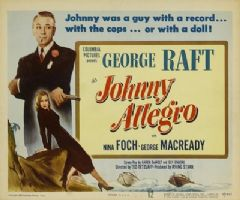 Johnny Allegro 1949 DVD - George Raft / Nina Foch